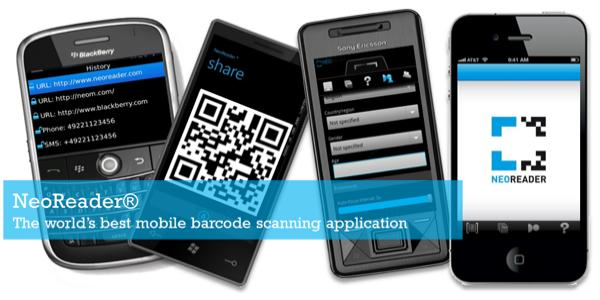 NeoReader | Turn your phone into a mobile barcode scanner